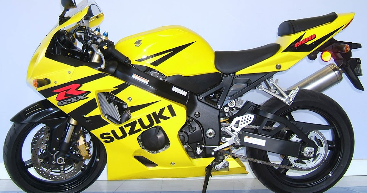 Bikes World Suzuki Gsxr 600 Black