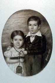 Eduarda Damasia y Lucio Victorio Mansilla Ortiz de Rozas