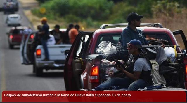 Fotos: Autodefensas, narcos y fuerzas federales en Michoacán