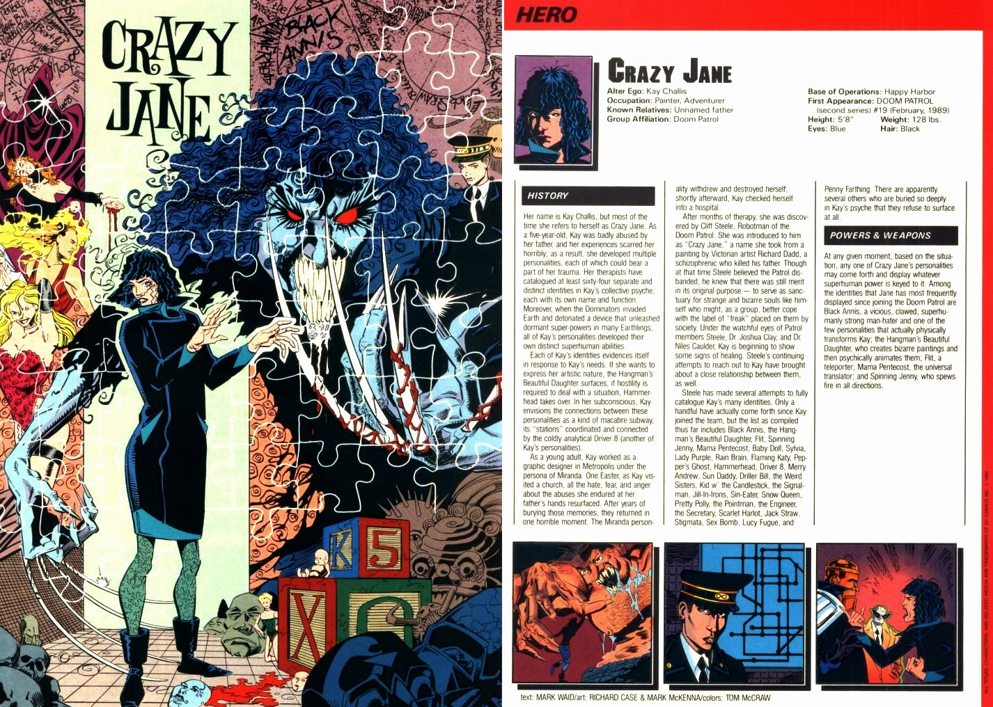 Crazy Jane DC Comics