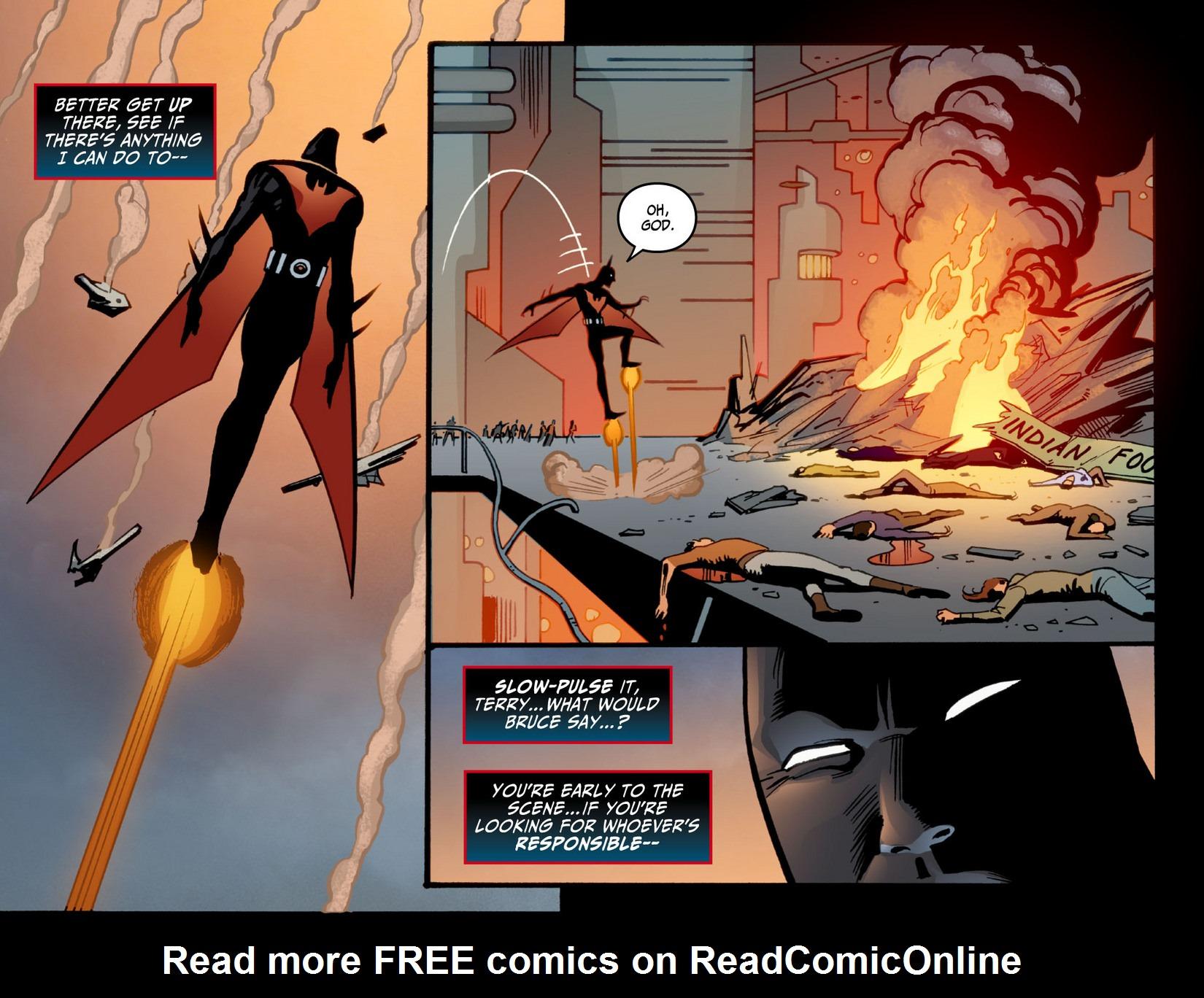 Batman Beyond (2012) Issue #11 #11 - English 15