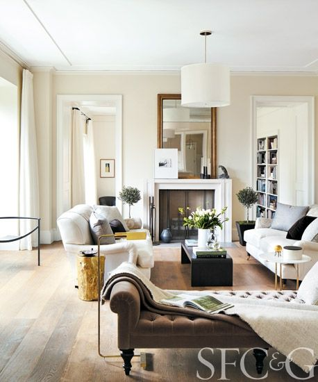 Chic Elegance Of Neutral Colors For The Living Room 10 Amazing Examples: South Shore Decorating Blog: Weekend Eye Candy