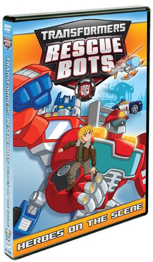 Rescue Bots DVD