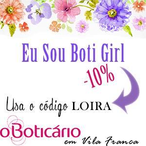 Parceira O Boticário de Vila Franca