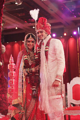 images od riteish deshmukh and genelia dsouza's maharashtrian hindu wedding photos