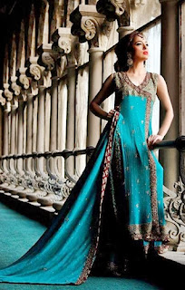 Angrakha Dress