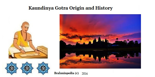 Kaundinya Gotra Origin and History