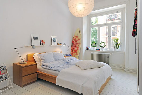INSPIRING BEDROOM IDEAS FOR SMALL APARTMENT