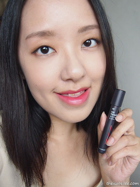 The Face Shop Ink Lipquid beauty blog review