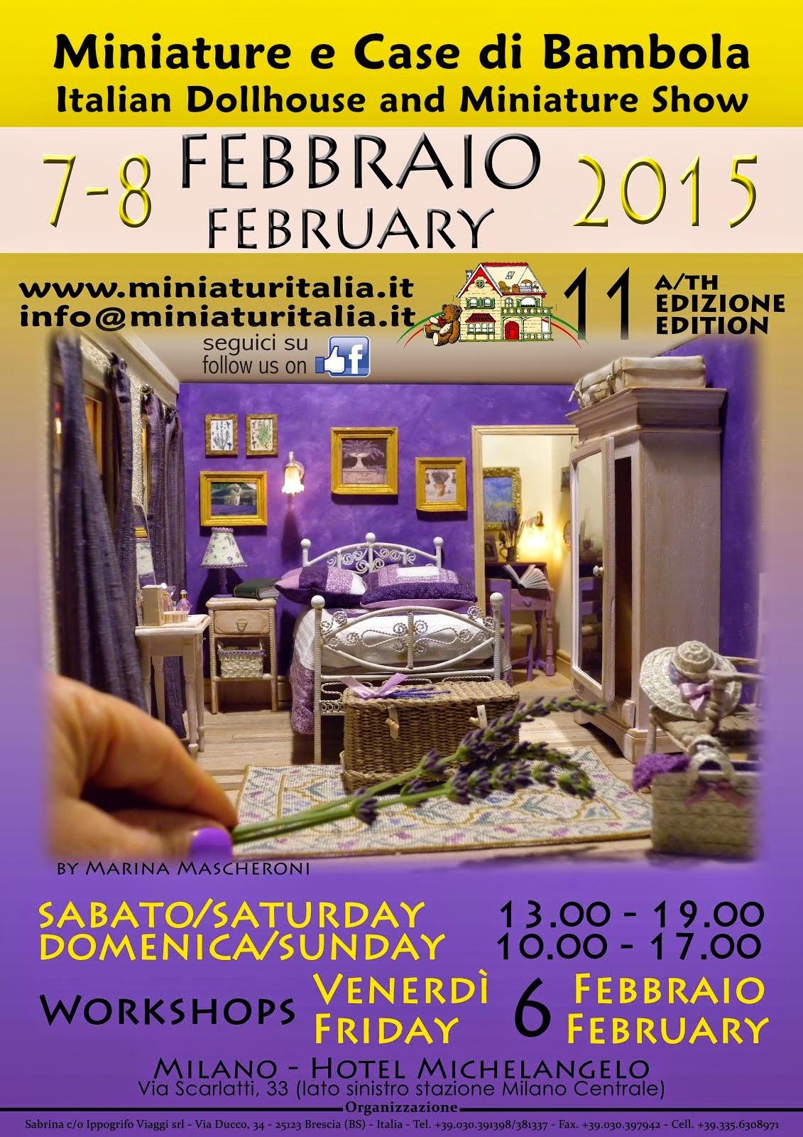 Mostra Miniaturitalia 2015