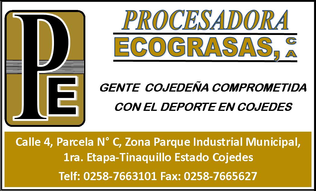 PROCESADORA ECOGRASAS, C.A.