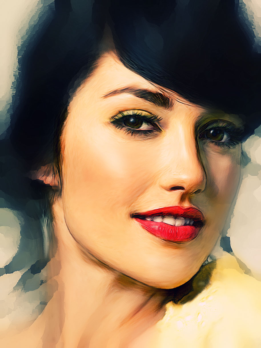 Secret tutorial about music art and design minka kelly digital minka kelly digital painting tutorial baditri Image collections