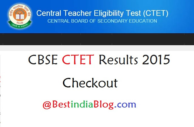 ctet results 2015