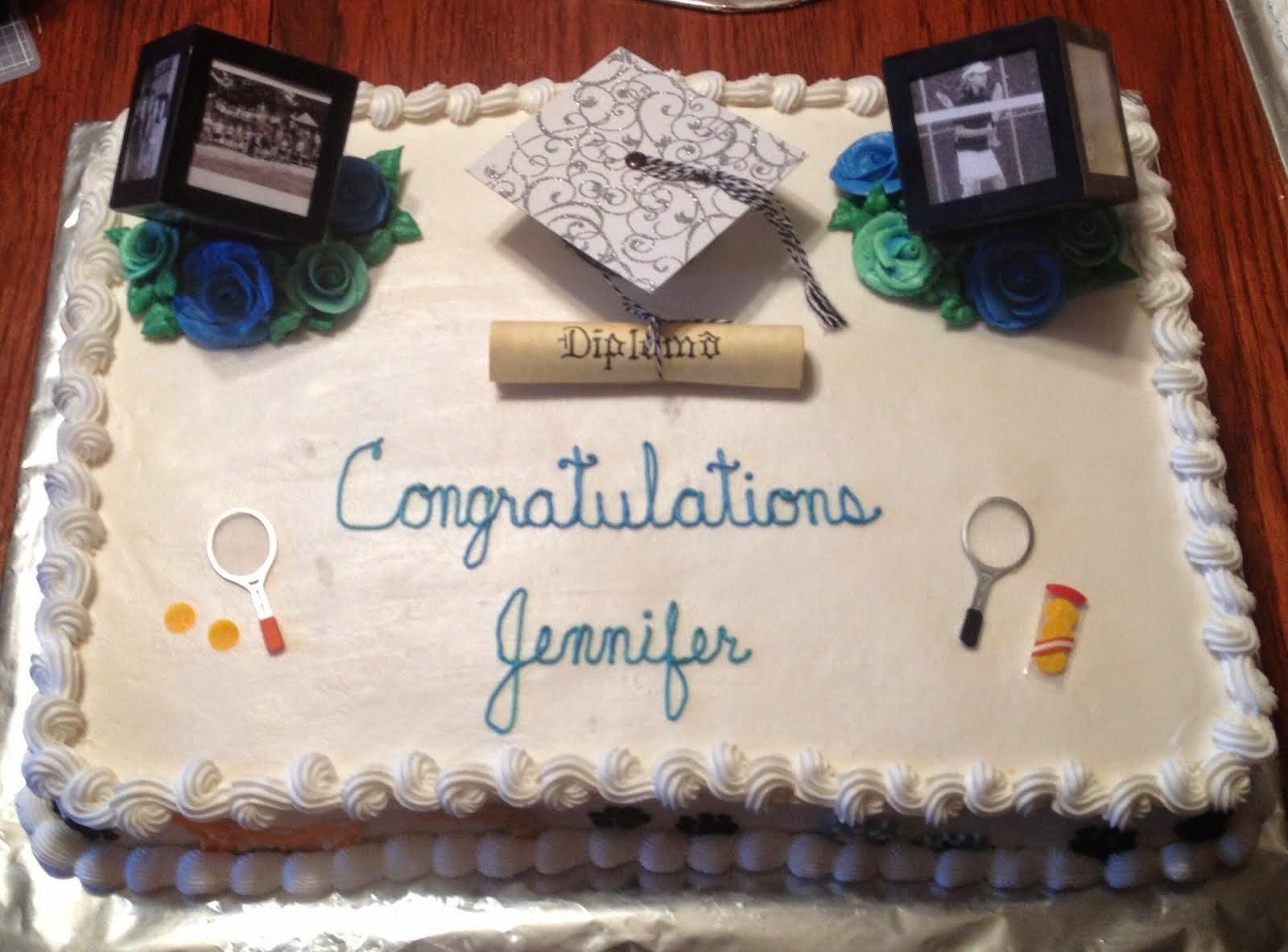 Grad cake 1 of 4 pics