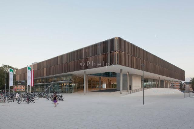 Unipark, Salzburg Universität - Arch. Storch Ehlers - Foto Andrew Phelps