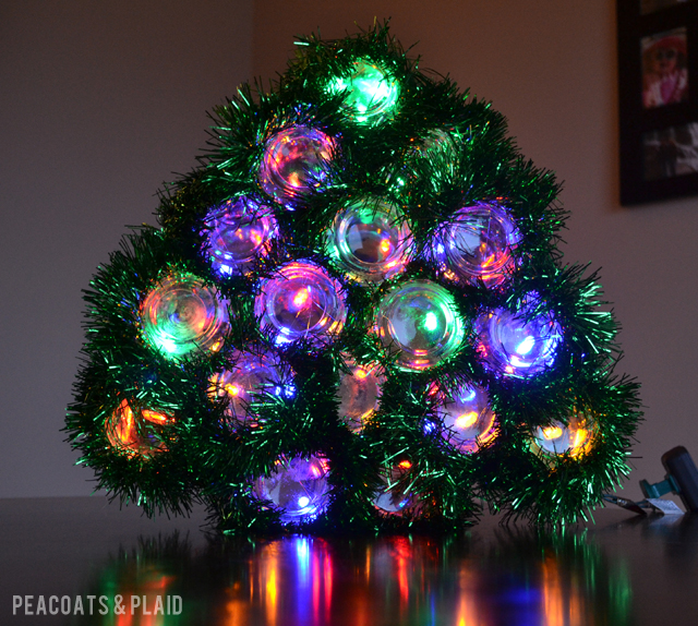 Light Up Christmas Tree Tutorial {guest Post}