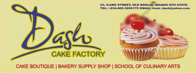 Dash Cake Factory Ibadan