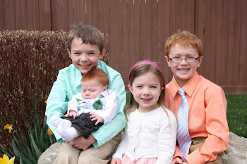 The kiddos - Easter 2011