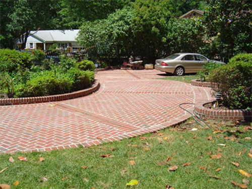 Brick Driveways5