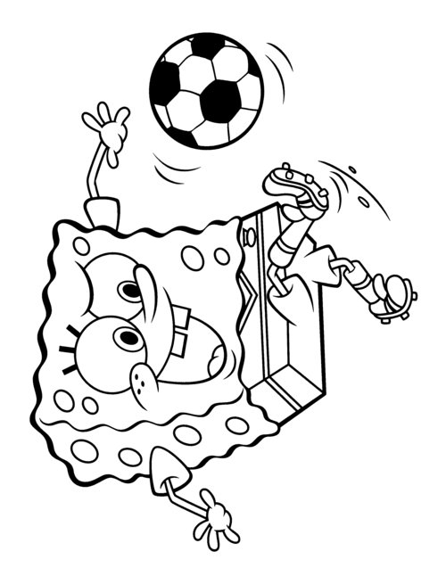 hood spongebob coloring pages - photo#25