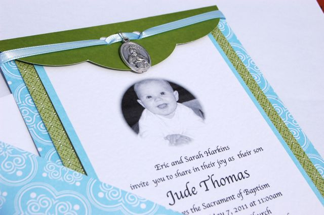 Great Making Catholic Baptism Invites