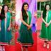 Anu Smriti in Green Salwar Kameez