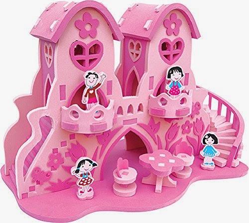 casita de princesa en goma eva