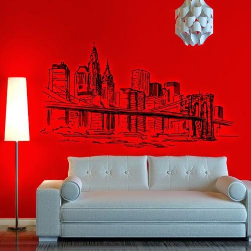 vinilos decorativos, vinilos baratos, pegatinas de pared, decoracion de salones
