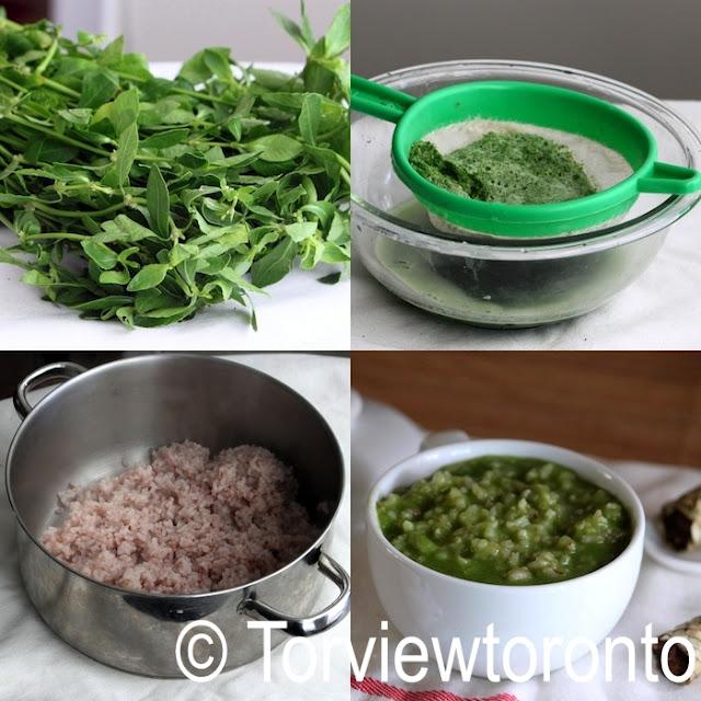 kola kanda herbal porridge