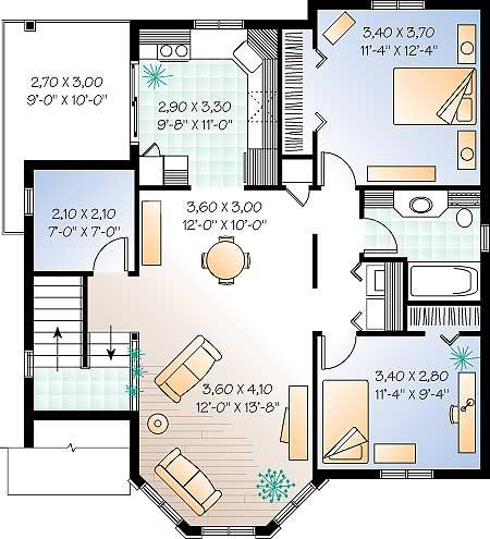 Planos de casas modelos y dise os de casas plano de for Como disenar una casa gratis