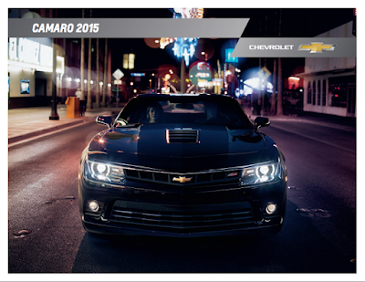 Downloadable 2015 Chevrolet Camaro Brochure