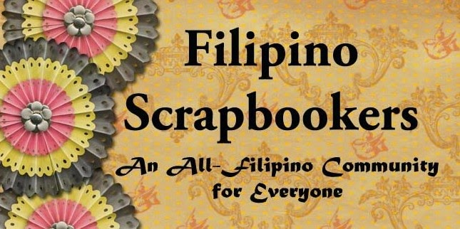 Filipino Scrapbookers' Banner
