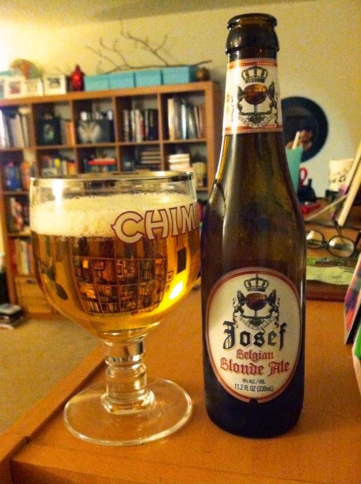 Josef Belgian Blonde Ale 1