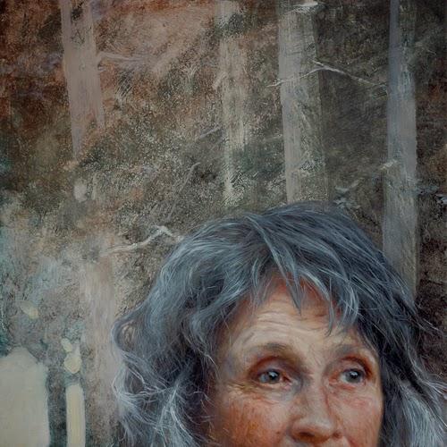 """Aunties: pinturas al óleo de Aleah Chapin que reflejan la verdadera belleza de sus """"tías""""  www.curvaslibres.blogspot.com"""