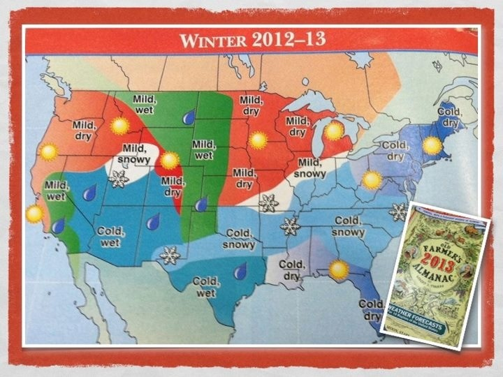 2012-2013 Winter Outlook
