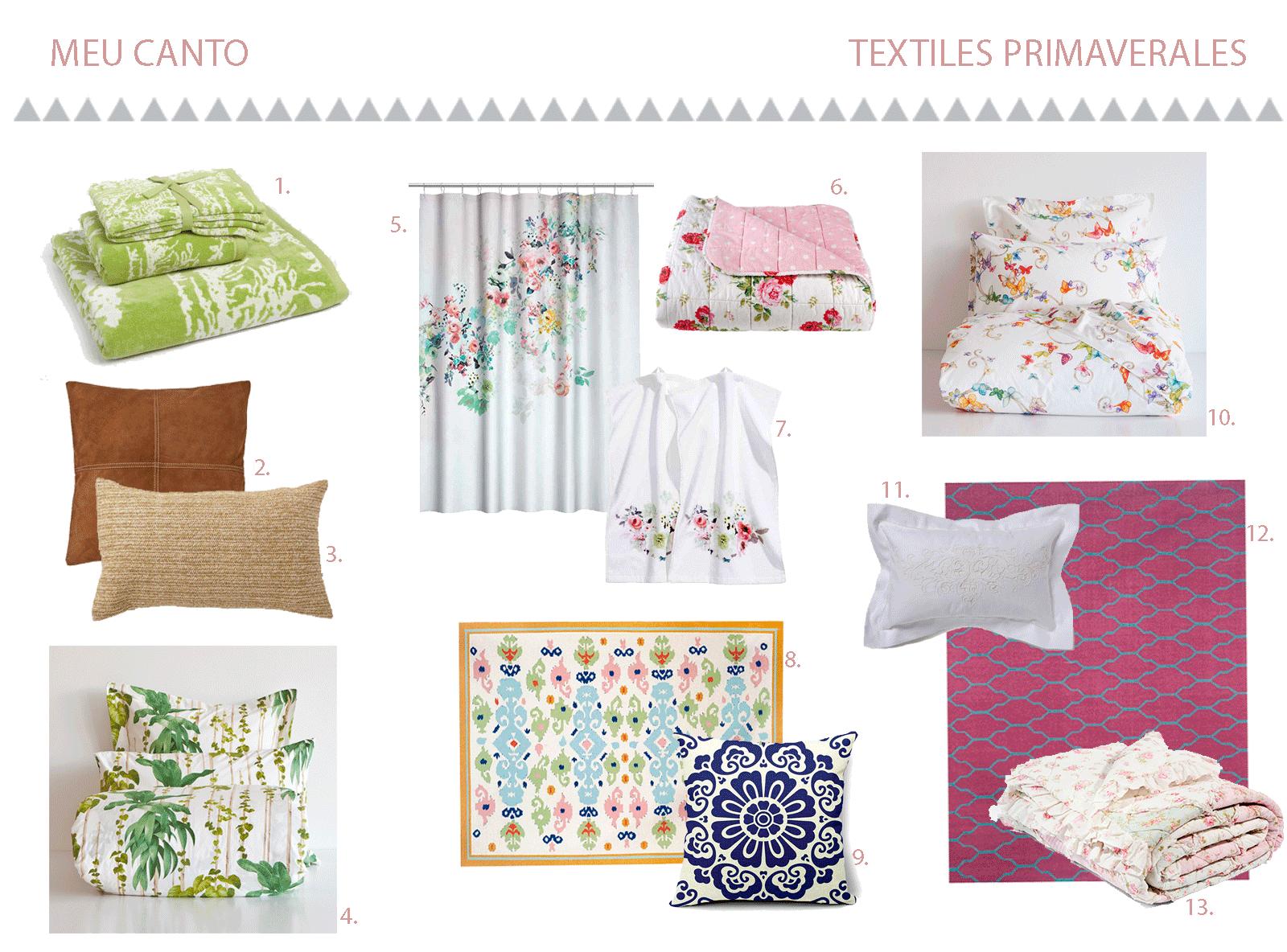 Textiles primavera