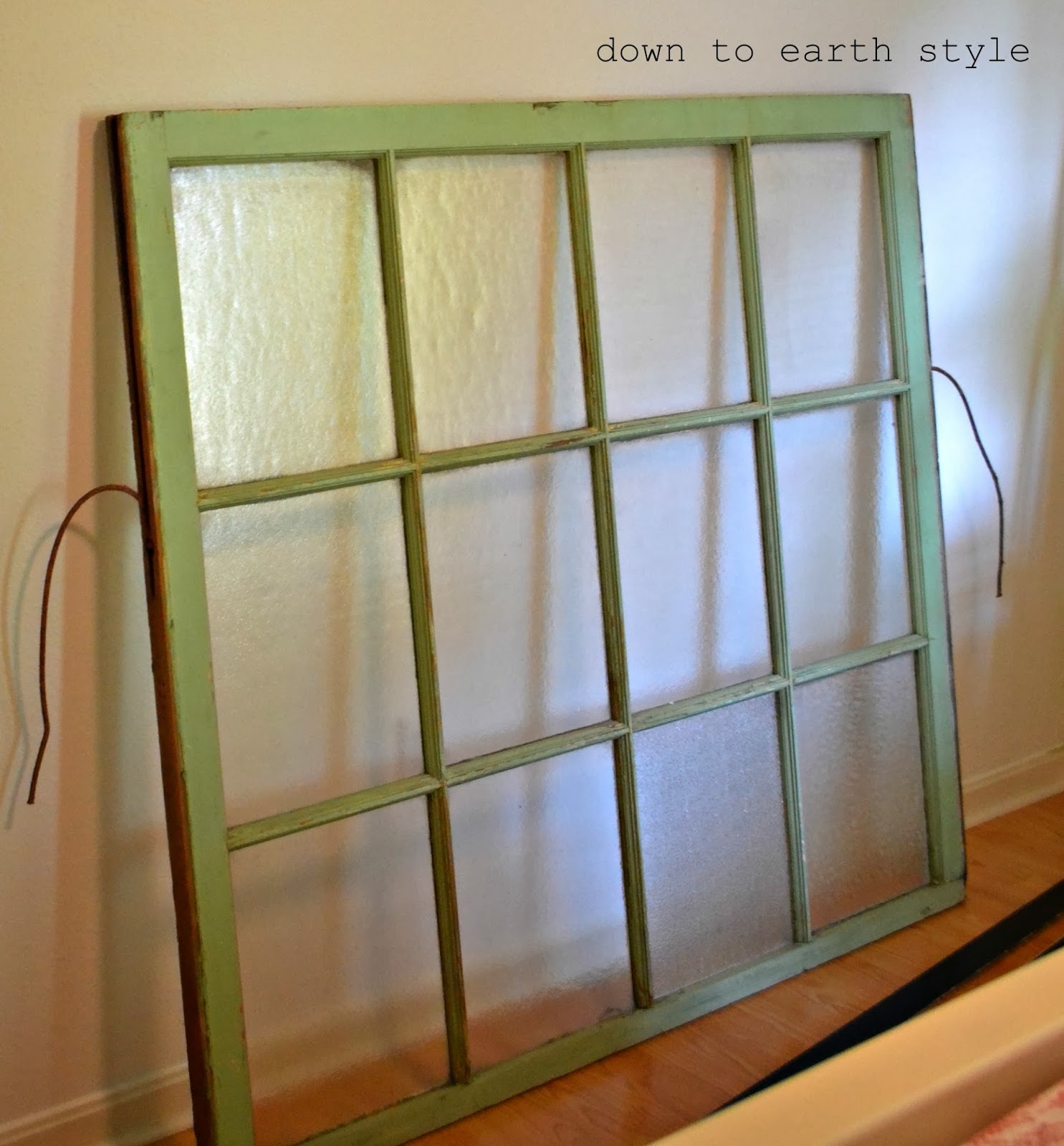 First - find your window. If you don\u0027t know where to look you can read THIS post to get an idea. & Down to Earth Style: Old Window Headboard Pezcame.Com