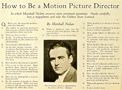 How to Be a Motion Picture Director (1925)