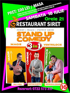 stand-up comedy constanta
