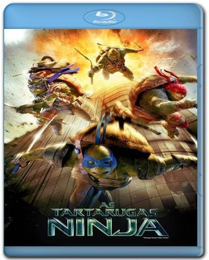 Baixar As Tartarugas Ninja 720p + 1080p + 3D Bluray Rip Dual Áudio 5.1 Torrent