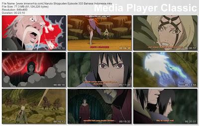 """Download Film / Anime Naruto Episode 333 """"Resiko dari Jutsu Edo Tensei"""" Shippuden Bahasa Indonesia"""