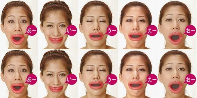 Senam Bibir Ala Jepang Mempercantik Wajah