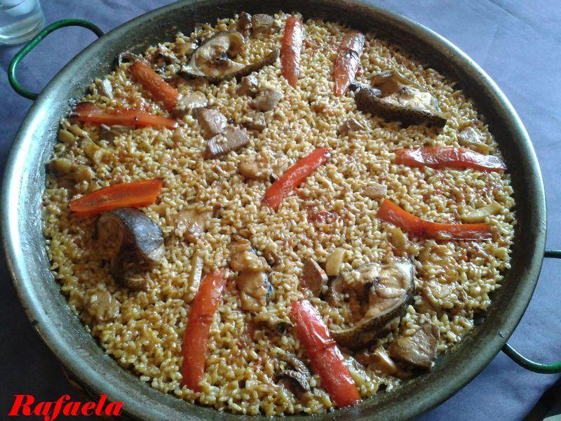 Recetas para no olvidar paella de pescado - Paella de pescado ...