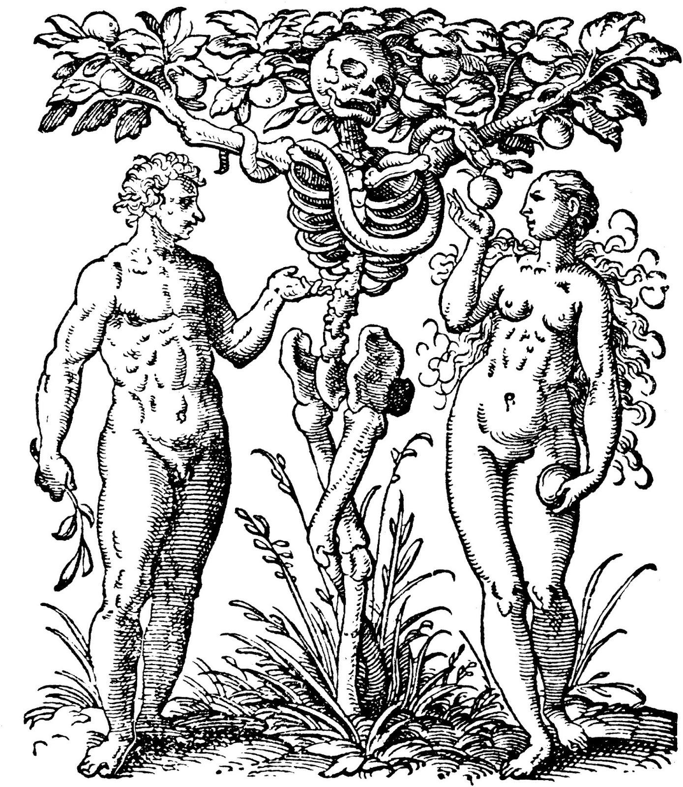 En direct de l 39 intestin gr le le nom des b tes for Tree of knowledge of good and evil tattoo