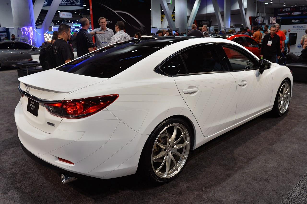 Mazda Ceramic 6 Concept Sema 2013 Photos Latest Auto Design