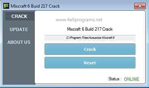 Mixcraft 6 Crack And Keygen Full