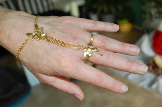 bracelet-bague l'elfe dans variante