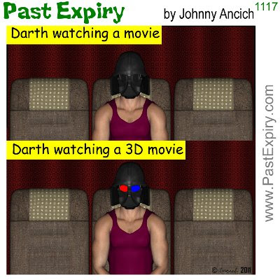 [CARTOON] Darth Vader Helmet. 3D, cartoon, DarthVader, movie, spoof, StarWars,