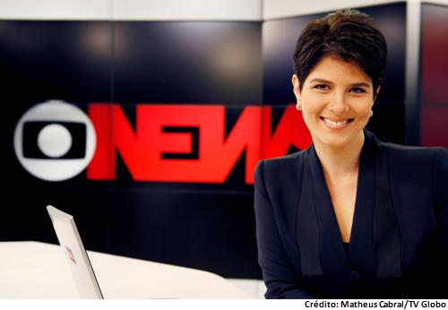 Apresentadora pede demissão da Globo