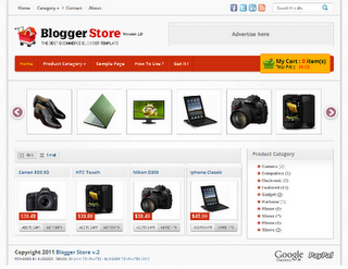 blogger ecommerce store gallery template 2012 free. Black Bedroom Furniture Sets. Home Design Ideas